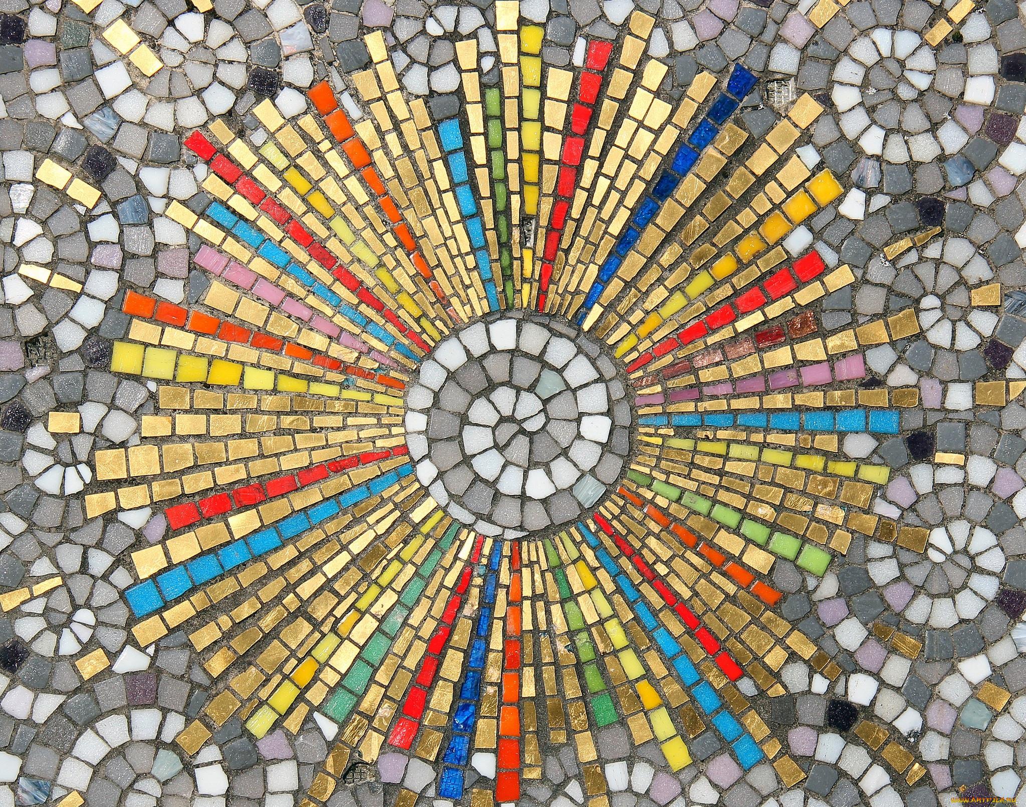мозаика разная картинки далеко